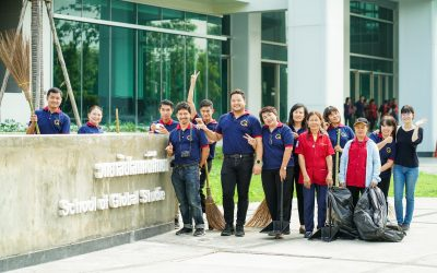 Thammasat Cleanup Day Activity for 2019