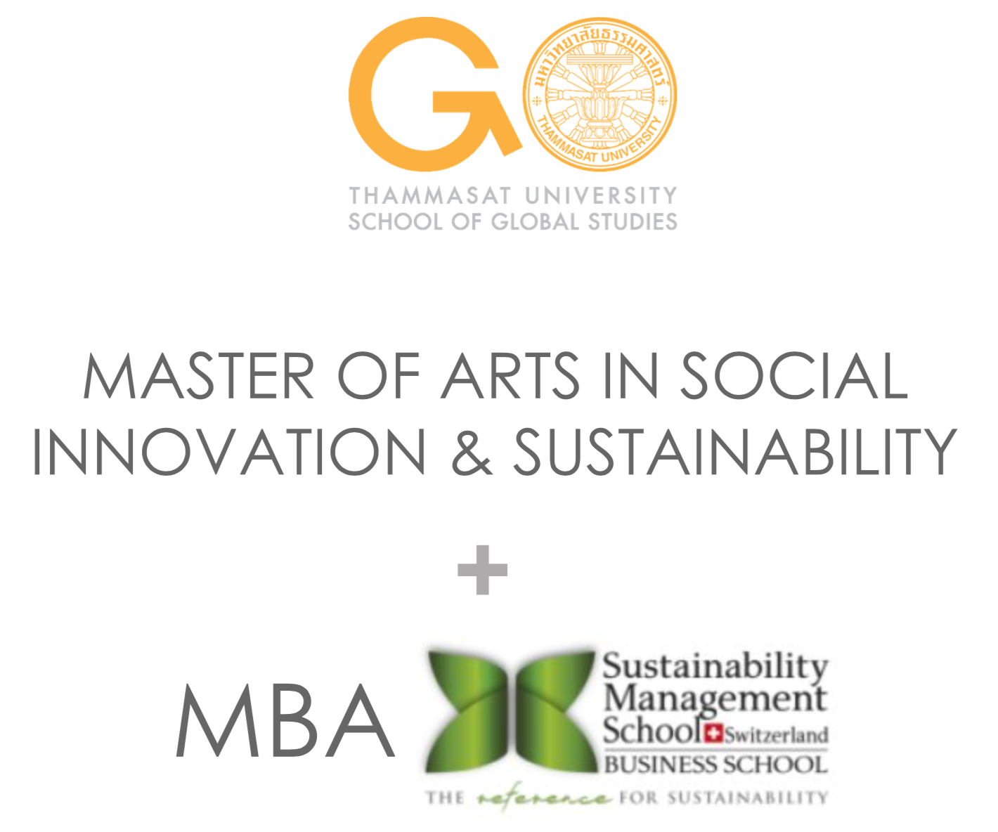 MA + MBA Social Innovation and Sustainability, The School of Global