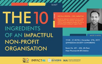 The 10 Ingredients of Impactful Non-Profit Organisations