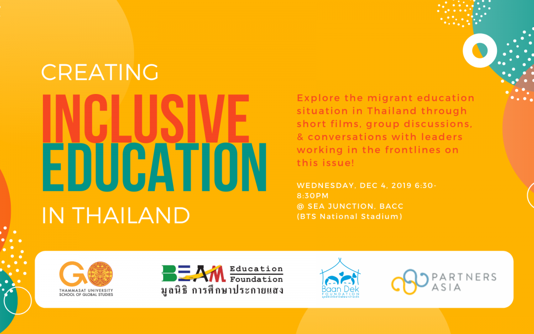Creating Inclusive Education in Thailand