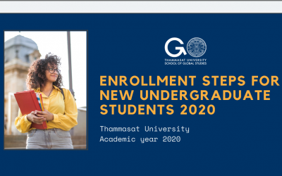 Enrollment Steps for New Undergraduate Students 2020